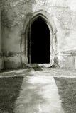 πόρτα εκκλησιών ανοικτή Στοκ Φωτογραφίες