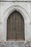 πόρτα εκκλησιών παλαιά Στοκ εικόνα με δικαίωμα ελεύθερης χρήσης