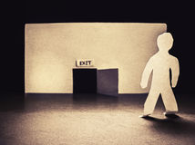 Πόρτα εξόδων Στοκ εικόνα με δικαίωμα ελεύθερης χρήσης