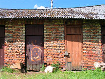 πόρτα εύθυμη Στοκ Εικόνα