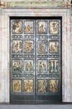 πόρτα ιερό Βατικανό Στοκ φωτογραφία με δικαίωμα ελεύθερης χρήσης