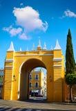 Πόρτα Ισπανία της Σεβίλης Puerta de Λα Macarena Arch Στοκ φωτογραφίες με δικαίωμα ελεύθερης χρήσης