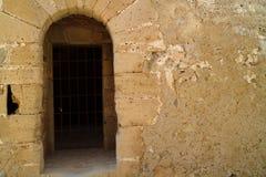 πόρτα ιστορική στοκ εικόνα