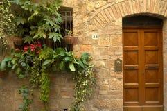 πόρτα ιταλικά Στοκ Εικόνα