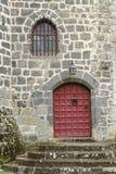 Πόρτα κάστρων Pontgibaud Στοκ εικόνες με δικαίωμα ελεύθερης χρήσης