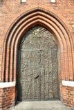 πόρτα καθεδρικών ναών opole στοκ εικόνες
