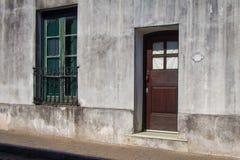 Πόρτα και παράθυρο Στοκ εικόνες με δικαίωμα ελεύθερης χρήσης