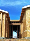 πόρτα κατασκευής νέα Στοκ Εικόνες