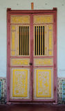 Πόρτα κινεζικός-ύφους Στοκ Εικόνες