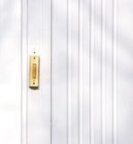 πόρτα κουδουνιών Στοκ Φωτογραφία