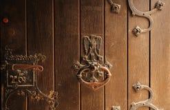 πόρτα λεπτομερειών Στοκ φωτογραφία με δικαίωμα ελεύθερης χρήσης