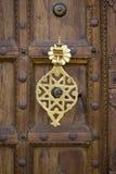 πόρτα Μαροκινός λεπτομέρειας Στοκ Φωτογραφία