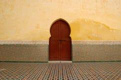 πόρτα Μαροκινός Στοκ εικόνα με δικαίωμα ελεύθερης χρήσης