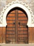 πόρτα Μαροκινός Στοκ Φωτογραφία