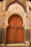 πόρτα Μαροκινός Στοκ Φωτογραφίες