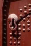 πόρτα Μαροκινός Στοκ φωτογραφία με δικαίωμα ελεύθερης χρήσης