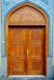 Πόρτα μουσουλμανικών τεμενών Στοκ Εικόνα