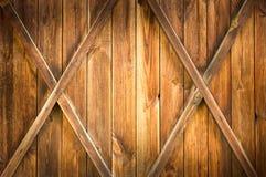 πόρτα ξύλινη Στοκ Εικόνα