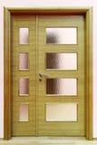 πόρτα ξύλινη Στοκ Φωτογραφία