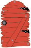 πόρτα ξύλινη απεικόνιση αποθεμάτων