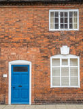 Πόρτα, παράθυρα και τοίχος για το υπόβαθρο Στοκ φωτογραφία με δικαίωμα ελεύθερης χρήσης
