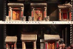 Πόρτα παραδοσιακού κινέζικου Στοκ φωτογραφία με δικαίωμα ελεύθερης χρήσης