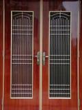 Πόρτα παραδοσιακού κινέζικου Στοκ Φωτογραφίες