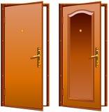 πόρτα που ανοίγουν ελεύθερη απεικόνιση δικαιώματος