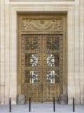 Πόρτα που εργάζεται ξύλινη Στοκ Εικόνες
