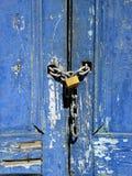 πόρτα που κλειδώνεται βρ&al Στοκ Φωτογραφία