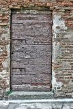 Πόρτα που κλειδώνεται αρχαία Στοκ Εικόνες