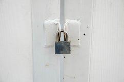 πόρτα που κλειδώνεται Στοκ εικόνες με δικαίωμα ελεύθερης χρήσης