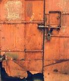 πόρτα που οξυδώνεται Στοκ Εικόνες