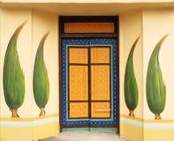 πόρτα που χρωματίζεται Στοκ Φωτογραφίες