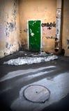 πόρτα πράσινη Στοκ εικόνες με δικαίωμα ελεύθερης χρήσης