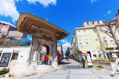 Πόρτα πτωχοκομείων Hagia Sophia στη Ιστανμπούλ, Τουρκία Στοκ Εικόνα