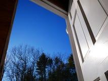 Πόρτα σε νέο Στοκ Εικόνα