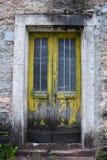 Πόρτα σε Casso Στοκ εικόνα με δικαίωμα ελεύθερης χρήσης