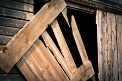 πόρτα σιταποθηκών παλαιά Στοκ Εικόνες