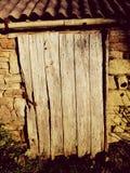 πόρτα σιταποθηκών παλαιά Στοκ εικόνα με δικαίωμα ελεύθερης χρήσης