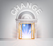 Πόρτα στην αλλαγή Στοκ Εικόνες