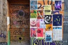 Πόρτα στην οικοδόμηση Στοκ Φωτογραφίες