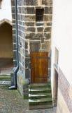 Πόρτα στην Πράγα Στοκ φωτογραφία με δικαίωμα ελεύθερης χρήσης