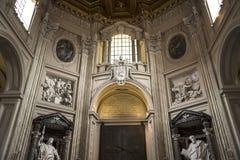 Πόρτα στη βασιλική του ST John Lateran στη Ρώμη Ιταλία Στοκ Εικόνα