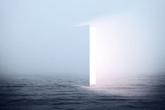 Πόρτα στον ουρανό Στοκ Εικόνα