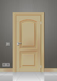 Πόρτα στον τοίχο ελεύθερη απεικόνιση δικαιώματος