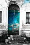 Πόρτα στο κανάλι της Βενετίας Στοκ φωτογραφία με δικαίωμα ελεύθερης χρήσης