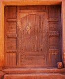 Πόρτα στο μαροκινό χωριό Στοκ φωτογραφία με δικαίωμα ελεύθερης χρήσης