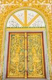 Πόρτα στο ναό Στοκ φωτογραφία με δικαίωμα ελεύθερης χρήσης