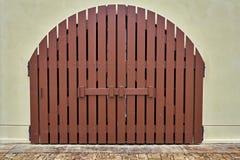 Πόρτα στο σπίτι Στοκ Φωτογραφίες